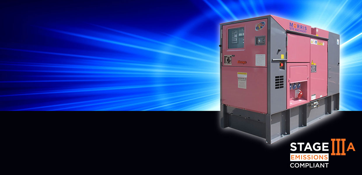 STAGE IIIA GENERATORS IN STOCK NOW