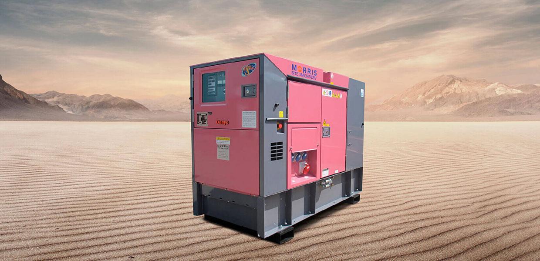 Denyo Eventa 37KVA Diesel Generator