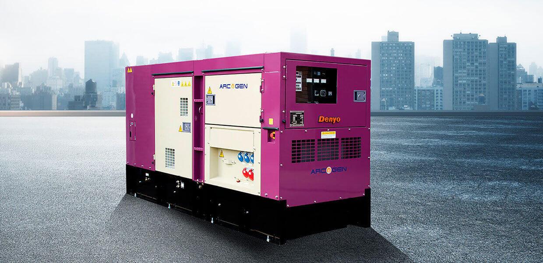 Denyo Renta 100 KVA Diesel Generator