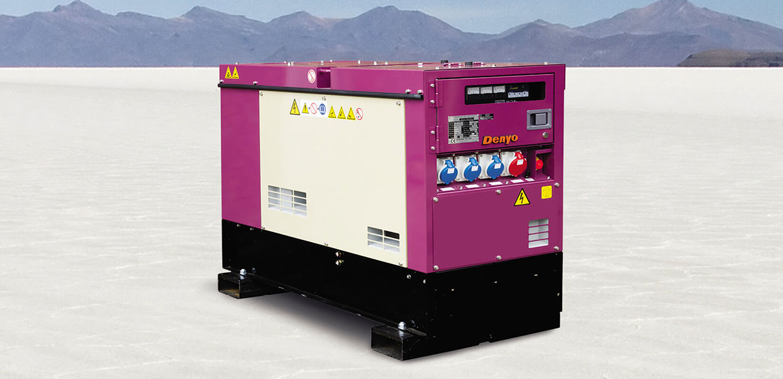 Denyo Renta 20 KVA Diesel Generator