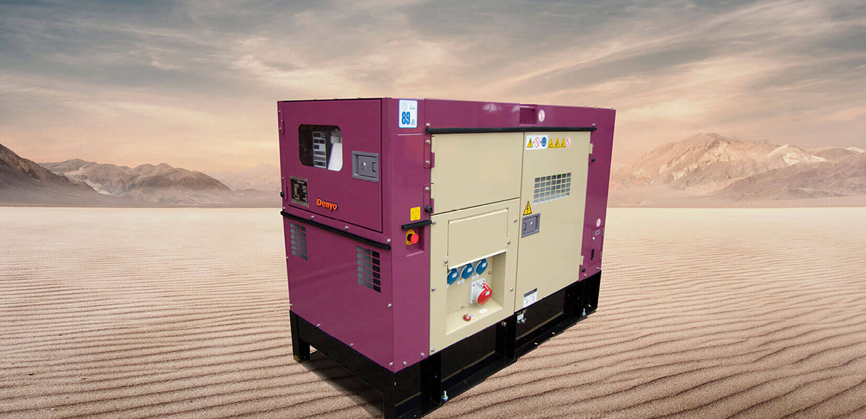 Denyo Renta 37 KVA Diesel Generator