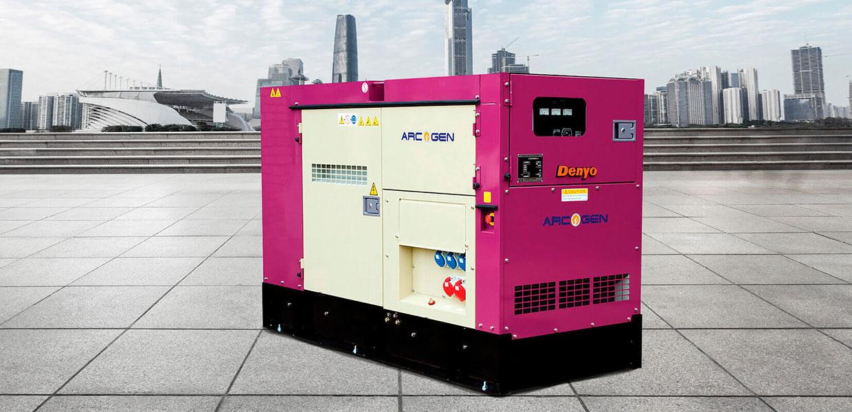 Denyo Renta 60 KVA Diesel Generator