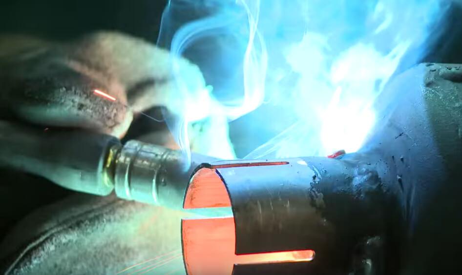 Smooth welding characteristics