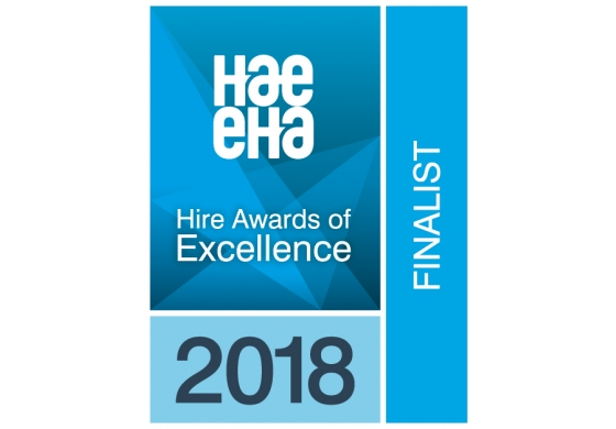Shortlisted for Excellence