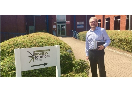 Successful visit to the Business Solutions Centre