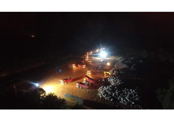 TL90 LEDs light up West African mine