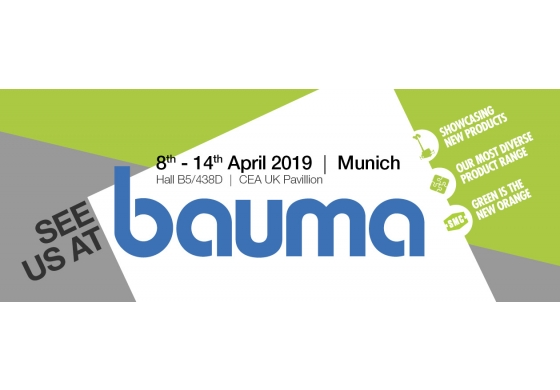 Showing we mean business at Bauma 2019