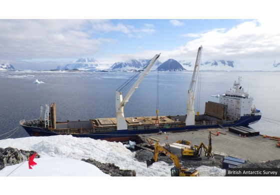 Morris Site Machinery is cool with major order for Antarctic project