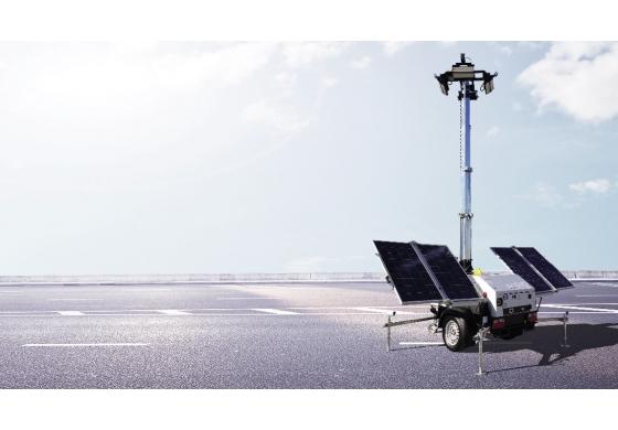 Spotlight on SMC TL55 Solar lighting tower