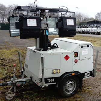 SMC TL90 Used Metal Halide Lighting Tower (2013)