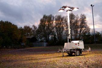 SMC TL90 metal halide lighting tower 2 X 110V SOCKETS