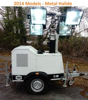 SMC TL90 Used Metal Halide Lighting Tower (2014)