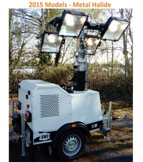 SMC TL90 Used Metal Halide Lighting Tower (2015)