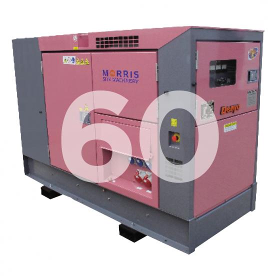 Denyo Eventa 60KVA Diesel Generator
