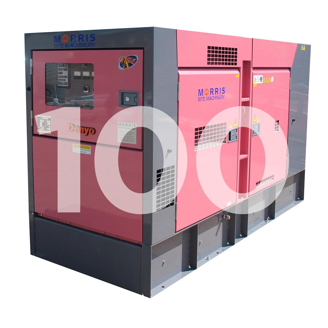 Denyo Eventa 100KVA Generator