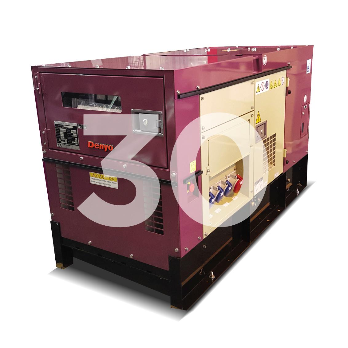 Denyo Renta 30KVA Diesel Generator